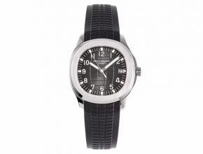 ZF百达翡丽顶级精仿表男款黑盘橡胶带海底探险者系列机械手表