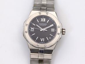 萧邦高仿手表男款蓝盘钢带自动机械ALPINE EAGLE系列阿尔卑斯雄鹰 手表