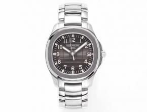 ZF百达翡丽顶级高仿表男款黑盘钢带V3版海底探险者系列机械手表
