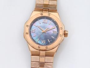 萧邦高仿表男款蓝盘金钢带自动机械ALPINE EAGLE系列41毫米手表