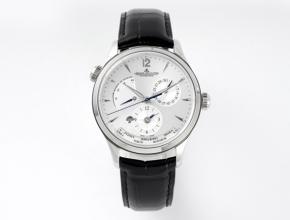 ZF积家一比一手表男款白盘黑带机械皮带地理学家Q1428421系列手表