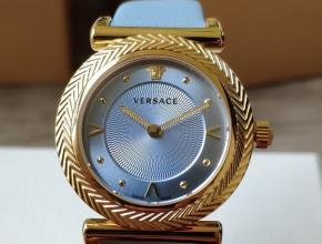 顶级原单手表范思哲女款蓝盘蓝带石英VCQ系列手表