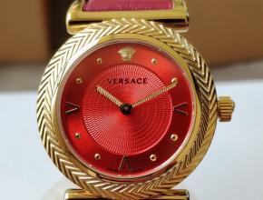 顶级原单手表范思哲VCQ系列石英女款红盘红带手表