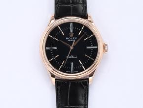 顶级精仿手表劳力士自动机械皮带切利尼系列男款手表