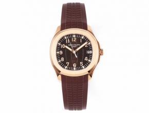 ZF百达翡丽复刻手表男款棕盘橡胶带机械海底探险者系列V3版手表