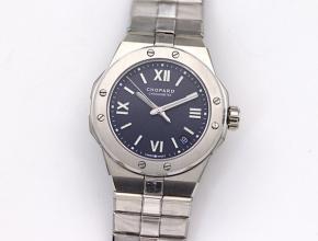 萧邦精仿手表男款蓝盘阿尔卑斯雄鹰 ALPINE EAGLE系列自动机械钢带手表