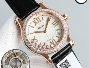 YY复刻萧邦快乐钻DIAMONDS系列皮带腕表怎么样
