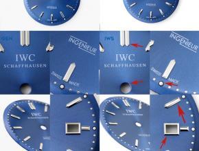 IWC万国劳伦斯复刻手表真假对比评测