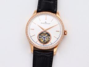 复刻积家大师1662451系列自动真陀飞轮皮带腕表材质好吗