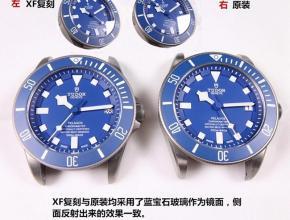 XF帝舵经典传奇男款复刻手表真假对比评测