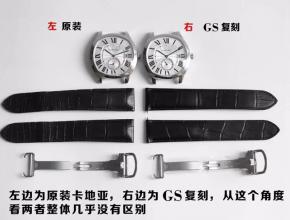 GS卡地亚Drive de Cartier系列男表复刻手表真假对比评测
