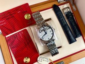 六十年代的欧米茄手表价格,欧米茄碟飞女款带钻手表