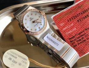 老的欧米茄手表价格,欧米茄贝壳盘镶钻女表
