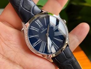 怎么看欧米茄手表真假,欧米茄彩钻手表