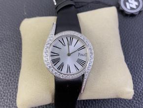 ZF伯爵复刻手表女款白盘黑带Limelight Gala石英手表