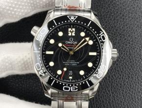 OR欧米茄42mm海马300米钢带机械手表