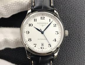 KL浪琴名匠系列L2.628.4.78.6男款白盘黑带自动机械手表