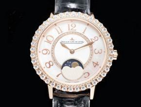 积家复刻表最好的款式约会系列Q35235570系列月相珠宝手表