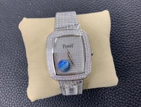 复刻手表伯爵女款白盘钢带非凡珍品系列满天星手表