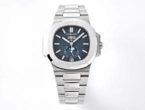 PPF厂复刻手表百达翡丽自动机械Nautilus系列男款蓝盘钢带腕表