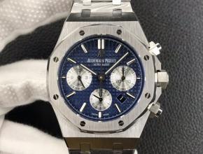 BF新品复刻手表爱彼皇家橡树系列26331OR男款蓝盘钢带计时手表