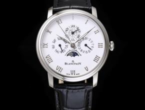 复刻手表宝珀男士白盘黑带经典系列6656自动机械手表