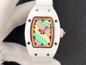 复刻手表理查德米勒女士爆款bon bon系列橡胶带手表