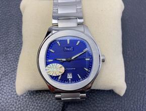 MKS厂复刻手表伯爵男士蓝盘钢带polo系列自动机械手表