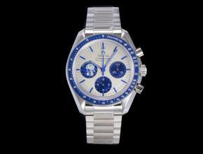 复刻手表欧米茄男装白盘史努比系列钢带手表