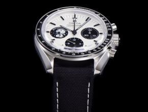 欧米茄复刻手表男款白盘尼龙带史努比系列手表