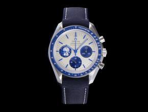 复刻手表欧米茄男装白盘尼龙带史努比系列手表