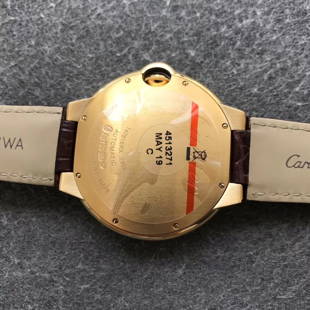 AF卡地亚蓝气球顶级复刻男士手表42毫米