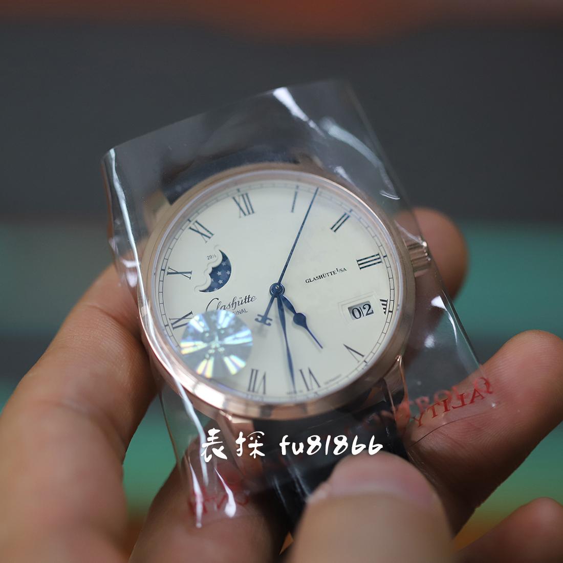 GF格拉苏蒂月相复刻手表评测 高颜值商务款