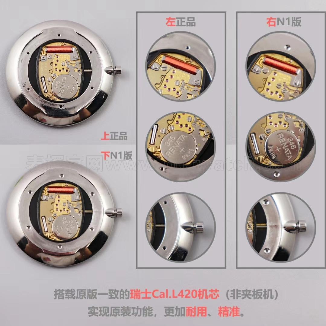 浪琴嘉岚系列超薄石英手表男女复刻表评测——优雅气韵L4.755.4.11.6