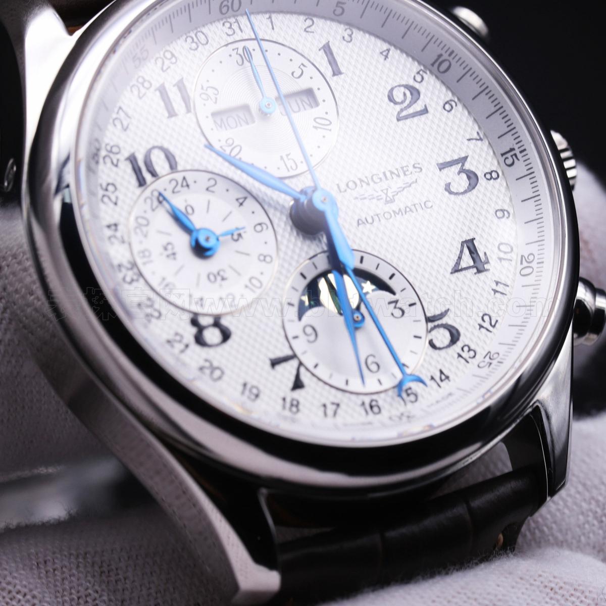 浪琴名匠系列月相八针多功能怎么样 复刻评测——儒雅气韵手表