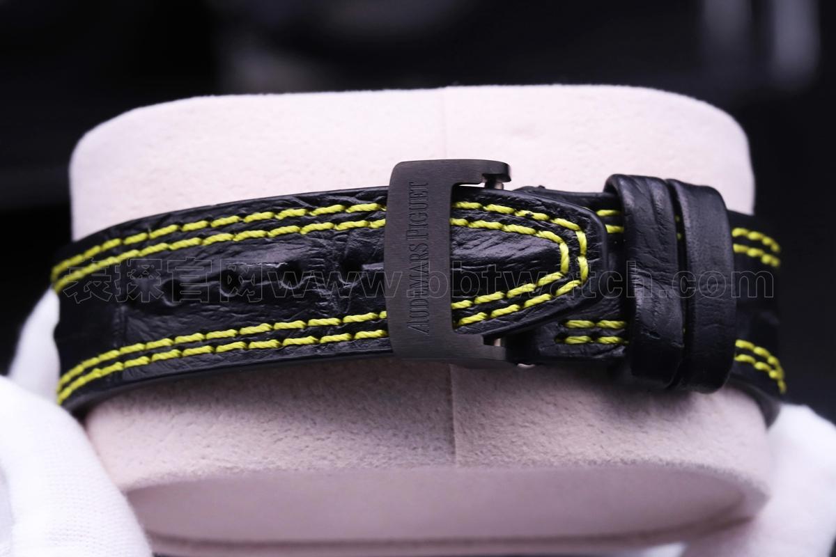 jf爱彼26176FO碳纤维42直径3126机芯复刻男表 评测