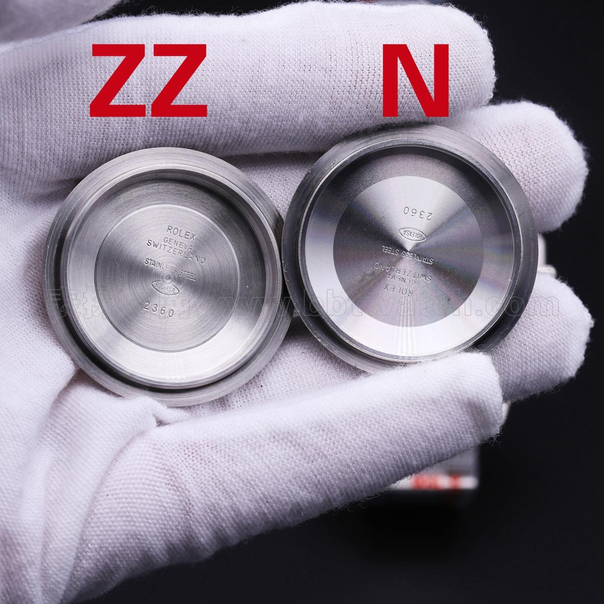 劳力士黑水鬼潜航者型复刻表zz厂喊话n厂v10s 对比评测