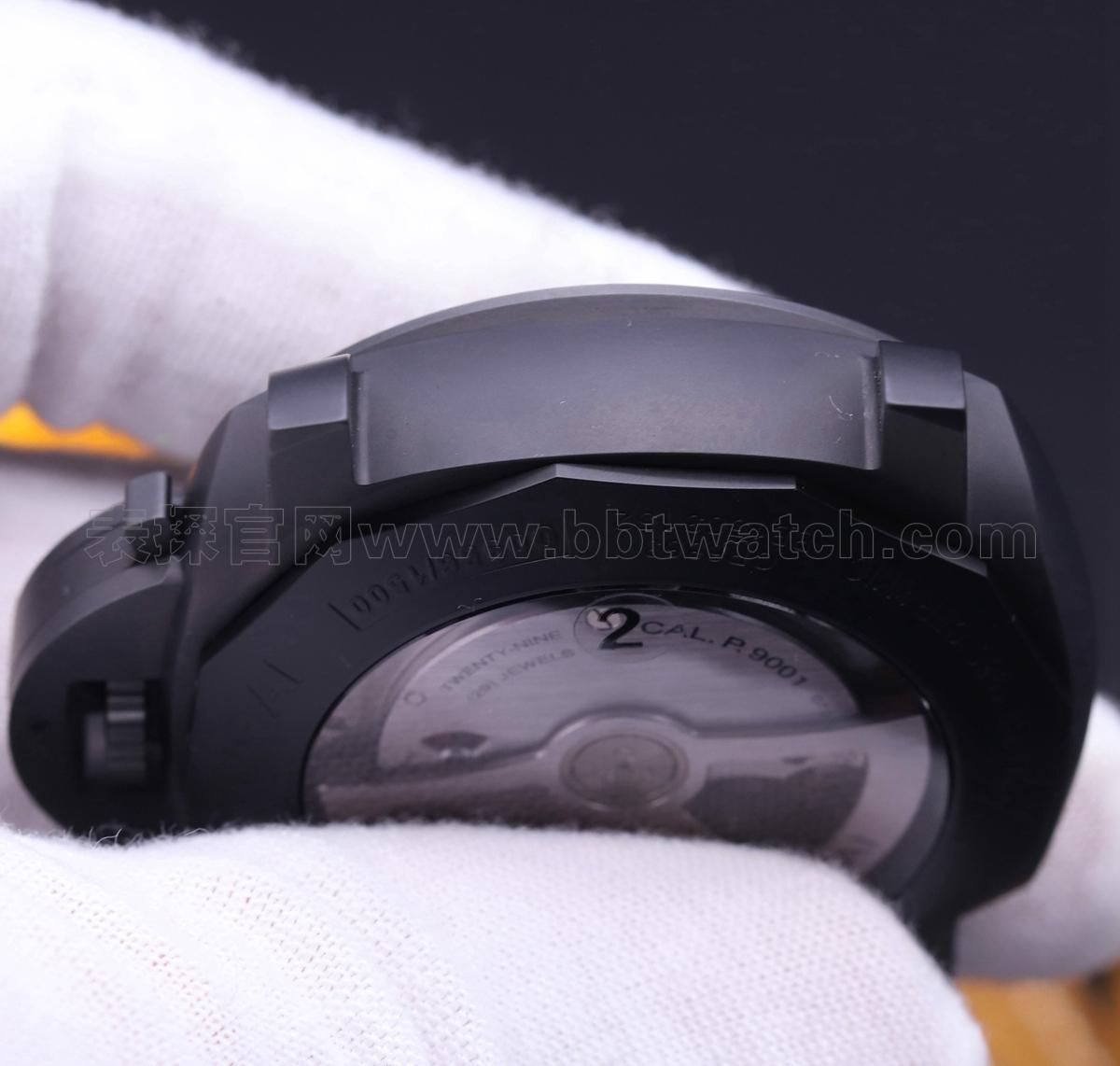 沛纳海vs441新款表带复刻表评测——超酷黑武士