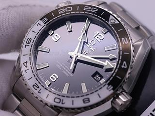 欧米茄海马复刻系列黑白陶瓷8500机械手表评测视频