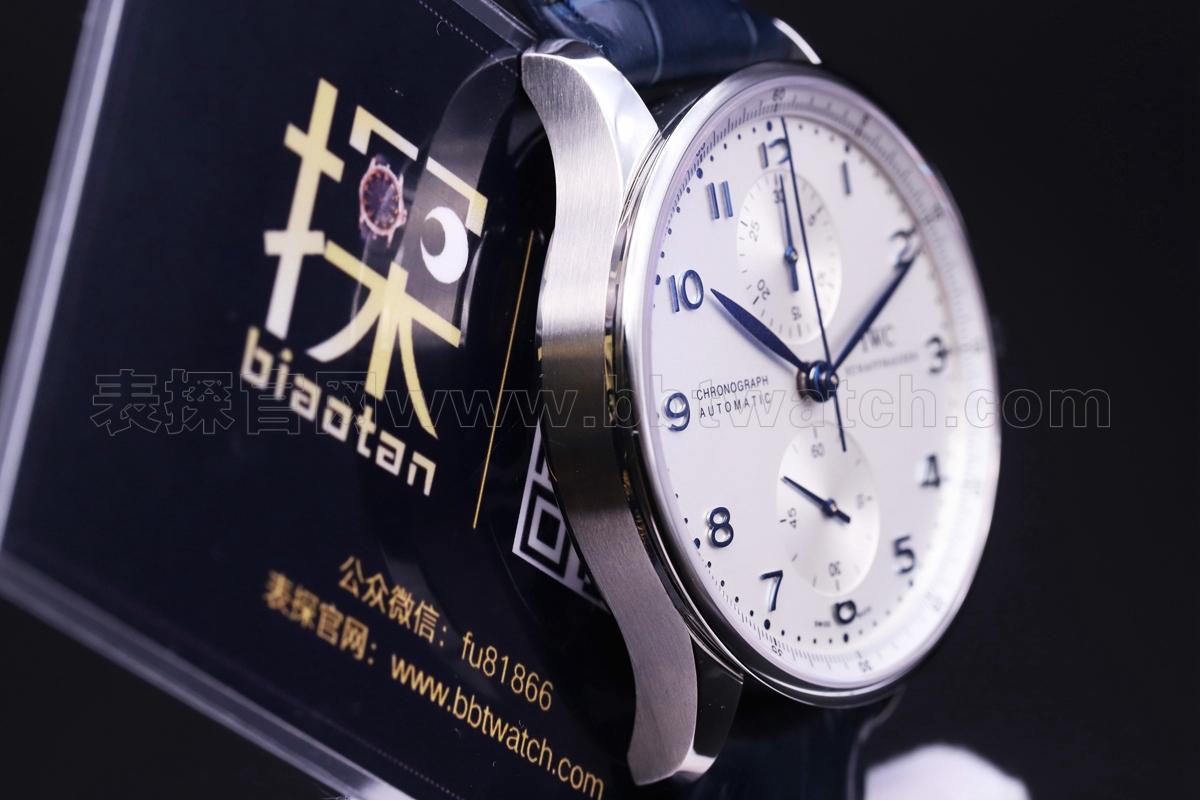 万国葡萄牙复刻手表葡计烤蓝针男士机械zf厂款评测