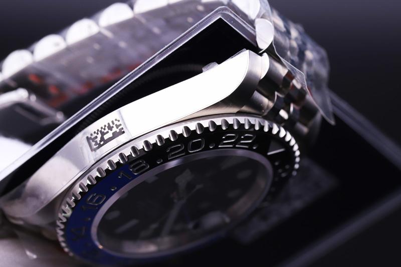 V9劳力士格林尼治型复刻表评测 黑蓝圈纪念型表链
