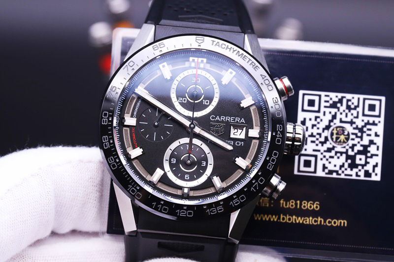 xf泰格豪雅复刻手表卡莱拉赛车计时码表