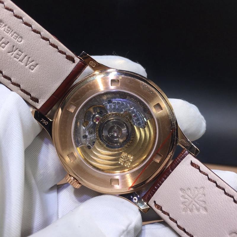 百达翡丽古典表系列 38mm 机械男表真金真钻