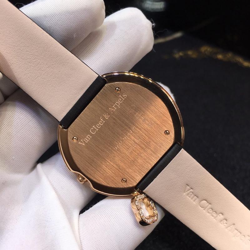 梵克雅宝女表 37mm 石英机芯 真金真钻