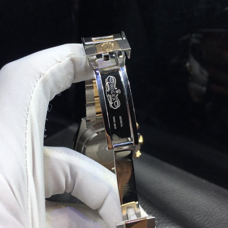 劳力士rolex迪通拿18K黄金机械男士腕表