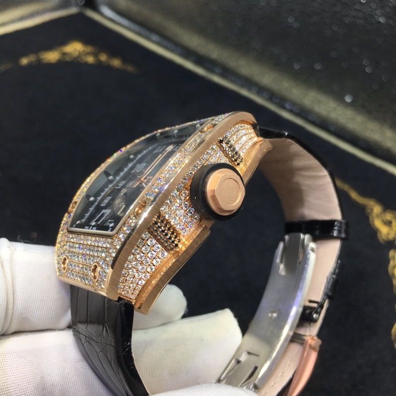 理查德米勒RM010南非满钻18K玫瑰金