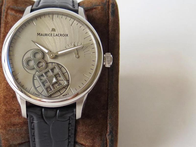 艾美匠心系列复刻表方秒轮神秘时间男士腕表