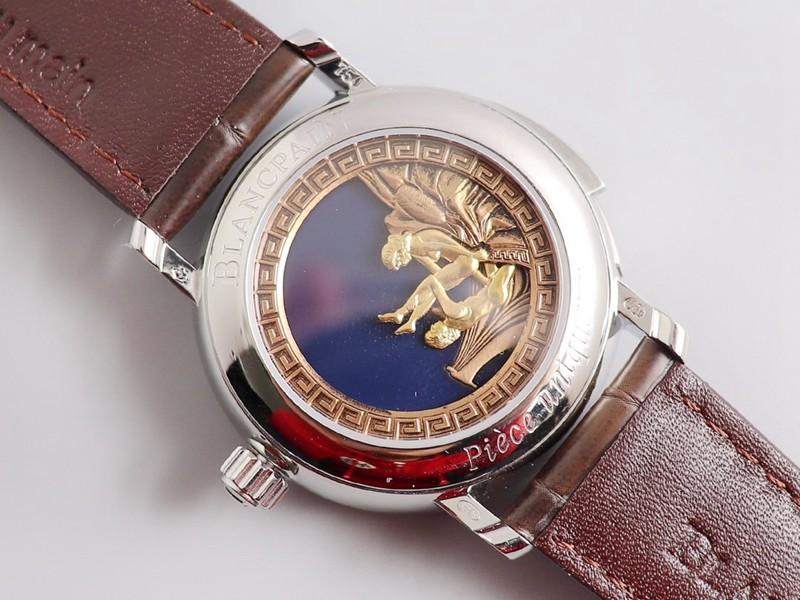 复刻宝珀手表春宫经典之作金色罗马刻度