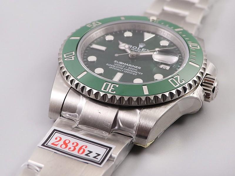 劳力士复刻手表ZZ绿水鬼 不在为色差烦恼