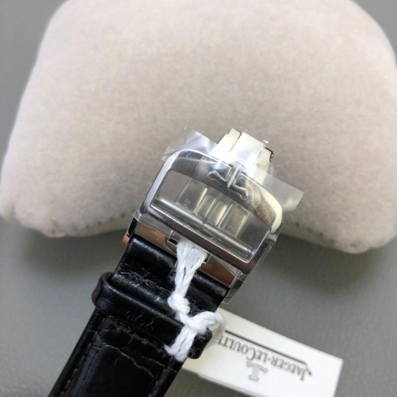 复刻积家男士双面双时区翻转手表简洁素雅温和